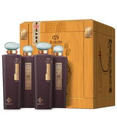 53°茅台醇香 珍藏级1949酱香型白酒柔和酱香木质礼盒装500ml(4瓶装)