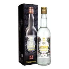 【顺丰包邮】58°金门高粱酒白金龙台湾白酒600ml