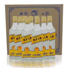 42度国产优质名酒江苏双沟绵柔大曲酒浓香型白酒绵柔型白酒之典范450ml(6瓶)
