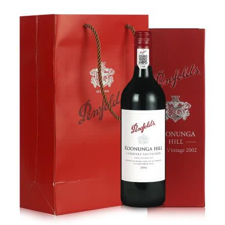 澳洲进口红酒 奔富Penfolds寇兰山 14.5° 干红葡萄酒 单瓶750ml