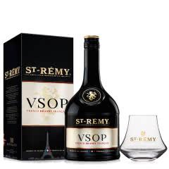 40°法国圣雷米VSOP白兰地700ml+圣雷米品鉴专用杯