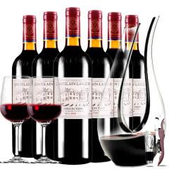 拉斐庄园2009典藏干红葡萄酒红酒整箱醒酒器装750ml*6