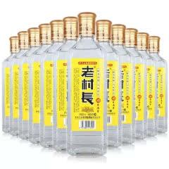 42°东北特产名酒老村长浓香型纯粮食老作坊东北白酒450ml(12瓶)