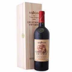 长城红酒 华夏葡园金奖A区赤霞珠干红葡萄酒 750ml 单瓶装