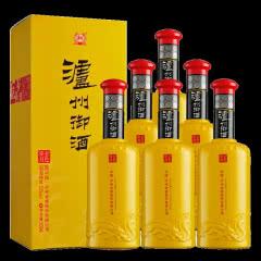 52度泸州御酒金色岁月礼盒装口粮白酒 喜宴白酒 整箱500ml*6瓶