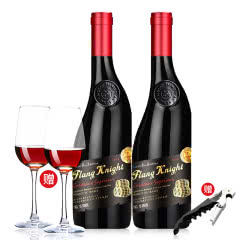 法国波尔多AOC法兰骑士·宝格瑞干红葡萄酒750ml