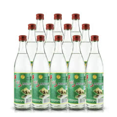 52°北京牛栏山陈酿白瓶二锅头白酒AY/AE牛二酒水500ml*12瓶 整箱