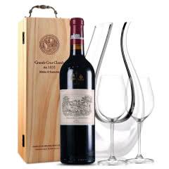 拉菲古堡干红葡萄酒 大拉菲 法国原瓶进口红酒 2005年 正牌 单支 750ml