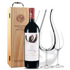 法国原瓶进口红酒 木桐古堡红葡萄酒 2007年 木桐正牌 单支 750ml