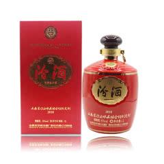 55°汾酒改革开放四十周年纪念收藏协会汾酒1L*4瓶(2018年)(整箱)