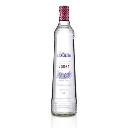 【包邮】37.5°法国(原瓶进口)法圣古堡公爵伏特加700ml