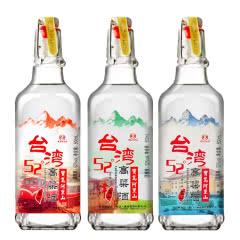 52°宝岛阿里山台湾高粱酒 高山酒500ml*3瓶 浓香风味白酒