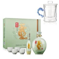 【礼盒】54°董酒醇香礼盒1000ml+高硼硅耐热玻璃杯