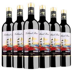 澳大利亚乐奔袋鼠红酒原瓶进口13度750ML*6瓶歌海娜干红葡萄酒整箱装