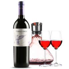 蒙特斯红酒montes 智利原装进口 蒙特斯紫天使干红葡萄酒 750ml