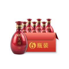 21°金德胜红兰酒500ml*6
