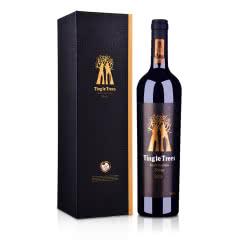 澳大利亚红酒丁戈树金标西拉干红葡萄酒750ml