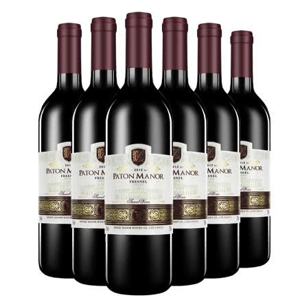 帕桐庄园菲尼尔原酒进口甜红葡萄酒750ml*6瓶装