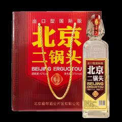 42°北京二锅头375ml (6瓶装)
