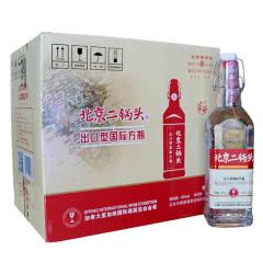 北京二锅头 白酒整箱特价 华都牌清香型42度 红标450ml*12瓶