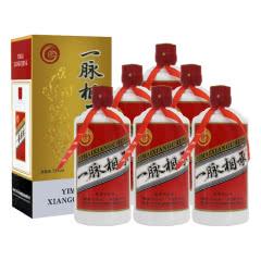 53°贵州茅台镇一脉相承酱香型白酒 手工固态纯粮酿造 500ml*6