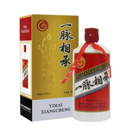 53°贵州茅台镇一脉相承酱香型白酒 手工纯粮固态酿造 500ml
