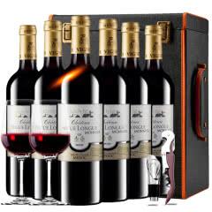 【中级庄】法国原瓶进口红酒波尔多史嘉隆庄园干红葡萄酒红酒整箱红酒礼盒装750ml*6