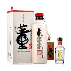 54°董酒何香750ml+54°董酒(100)100ml(乐享)