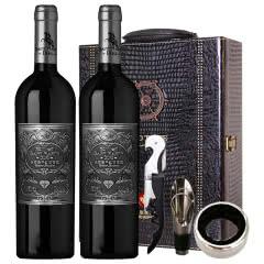 法国原酒进口 圣马丁公爵干红葡萄酒 12.5%红酒(银标)送礼酒750ml(2瓶)