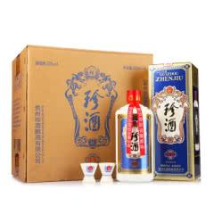 53°珍酒珍五 贵州酱香型白酒礼盒装 500ml*6(整箱)