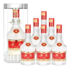 宜宾五粮液股份 兴隆佳品豪华装52度白酒 浓香型透明礼盒整箱500ml*6瓶2017年份酒