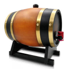 法国欧狮龙橡木桶干红葡萄酒2.5升