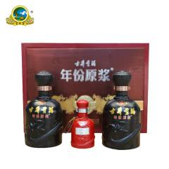 【酒厂直营】45°古井贡酒年份原浆  古8礼盒装 425ml(2瓶装)