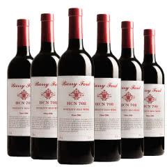 澳洲红酒奔富HCN708贵族西拉佳酿干红葡萄酒750ml*6支整箱装