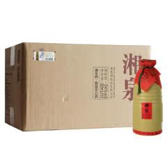 54度酒鬼酒湘泉馥郁香型(简优)裸瓶装白酒 500ml*12瓶