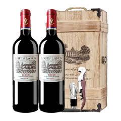 12°路易拉菲王子干红葡萄酒750ml(2瓶木箱装)