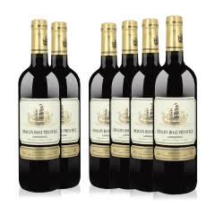 法国进口红酒龙船浩威将军干红葡萄酒 750ml*6瓶整箱