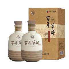 【酒厂直营】36度 华都 百年华都 浓香型白酒450ml*2