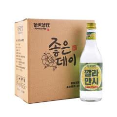 韩国进口好天好饮卡曼橘味12.5度配制酒360ml*6 整箱装