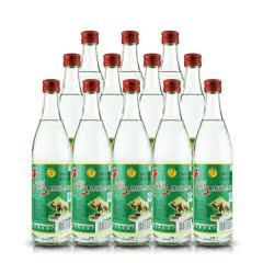 牛栏山二锅头 52°陈酿白瓶二锅头500ml*12瓶 整箱白牛二