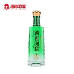 36°淡雅河套15 内蒙古浓香型白酒375ml 单瓶