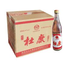 42° 白水杜康白酒500ml*12瓶(整箱)