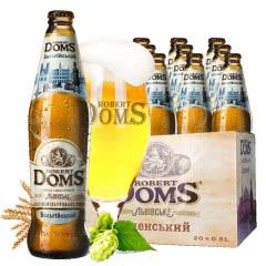 乌克兰进口啤酒多玛斯白啤酒500ml(20瓶装)