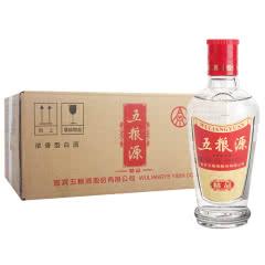 五粮液股份出品浓香型粮食白酒42度五粮源精品小酒100ml*24浓香型白酒