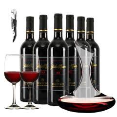 澳大利亚原瓶进口红酒乔睿庄园M28西拉子干红750ml*6