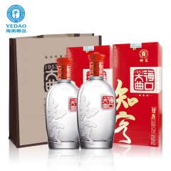 52°海口大曲知客白酒500ml(2瓶)