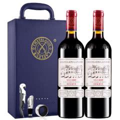 拉斐庄园2009珍酿原酒进口红酒珍藏干红葡萄酒双支红酒礼盒装750ml*2
