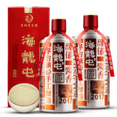 海龙屯酒红酱53度酱香型白酒500ml*2