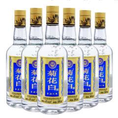 【北京特产】45°北京仁和菊花白酒 非遗庆典500ml(6瓶装)