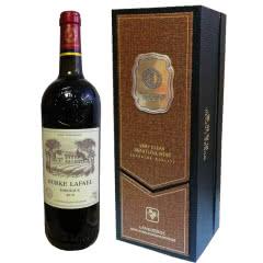 伯克拉斐尊贵黑盒法国原酒进口干红葡萄酒(单瓶装750ml*1瓶)